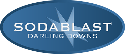 Sodablast | Soda Blasting Service Darling Downs Logo